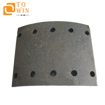 Brake drum lining 19032  for BPW heavy duty truck